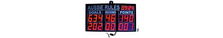Aussie Rules Scoreboards