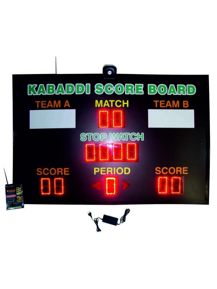 Kabaddi Scoreboard