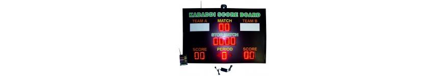 Kabaddi Scoreboards