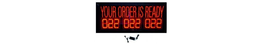 Order Display Boards