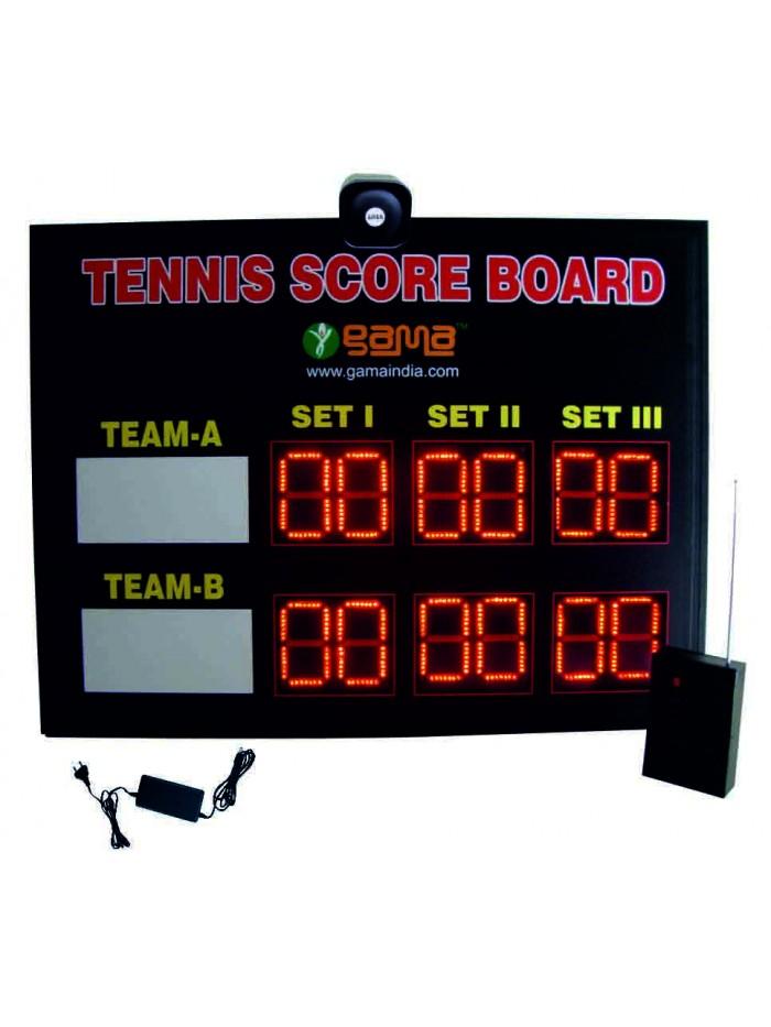 Tennis Scoreboard Set of 3