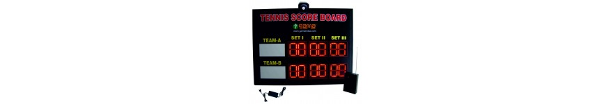 Tennis Scoreboards
