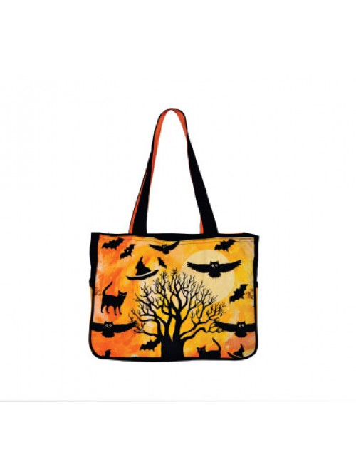 Flower Print Small Sized Bag