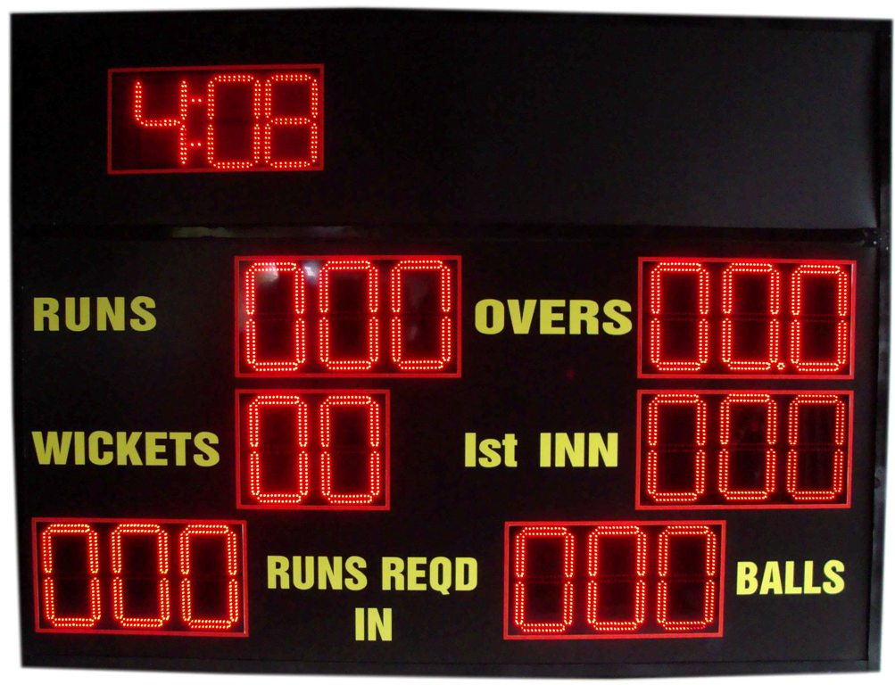Cricket LED/FND Scoreboard
