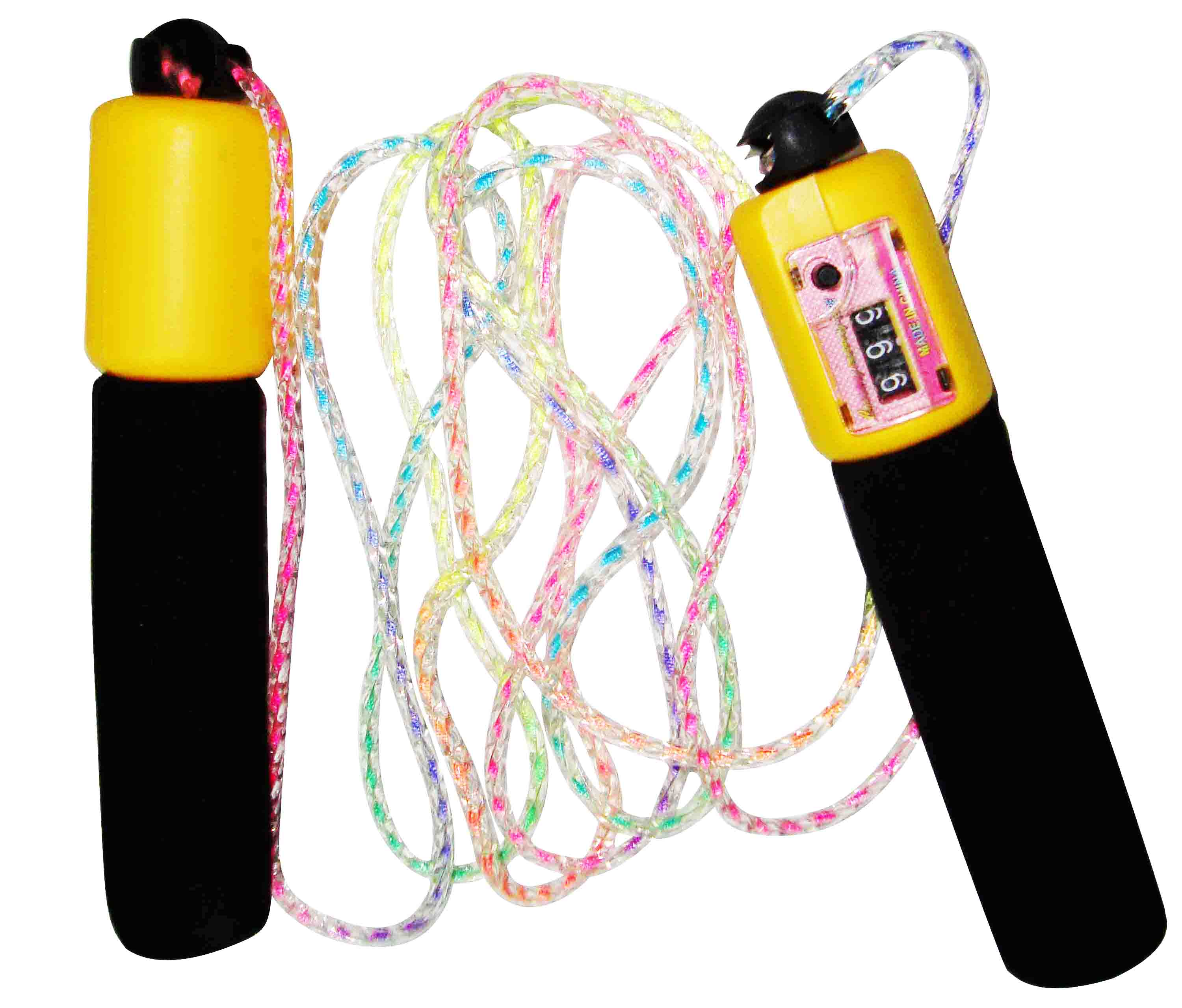 Skipping Rope with PVC Handle & Counter