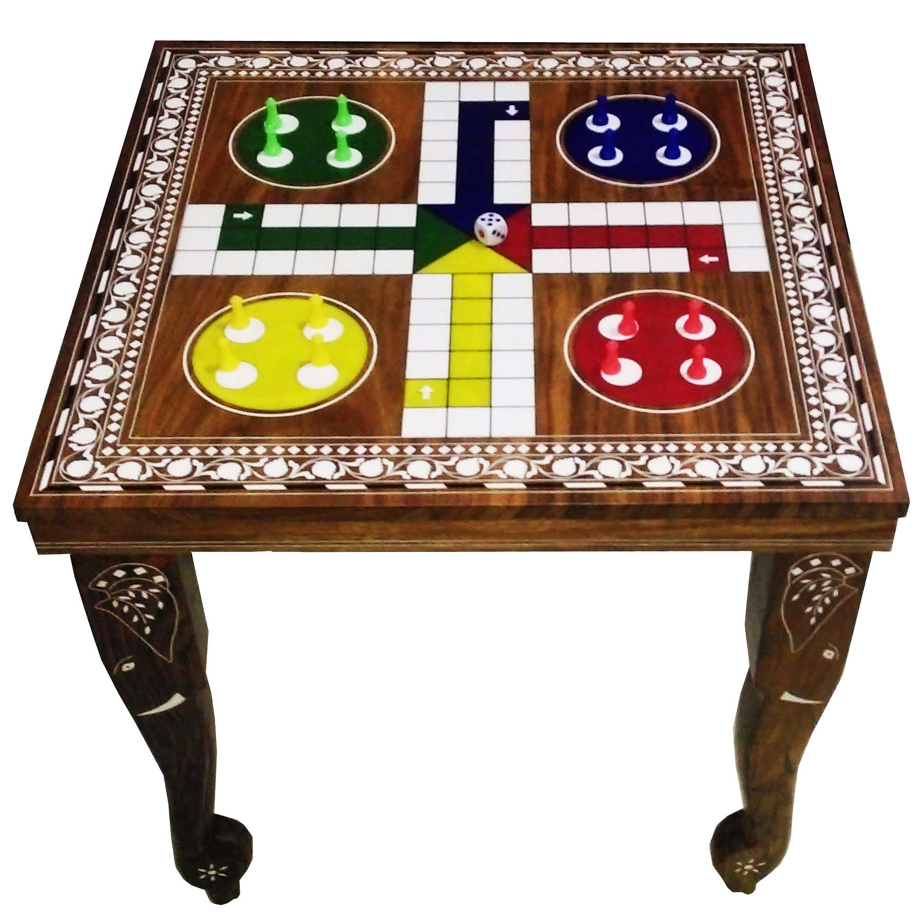 Wooden Ludo Table