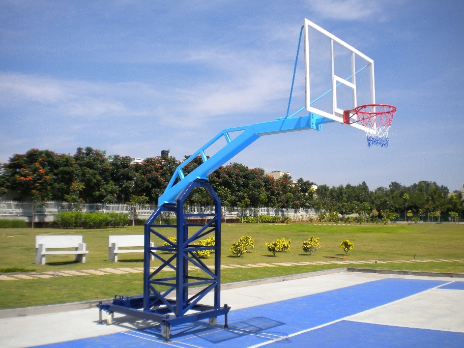 Portable Basketball Post
