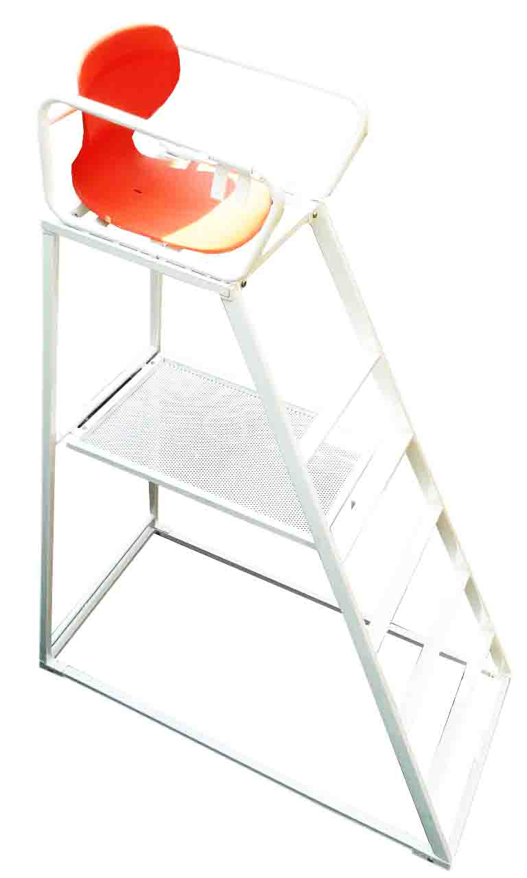 Umpire Chair with Shelf