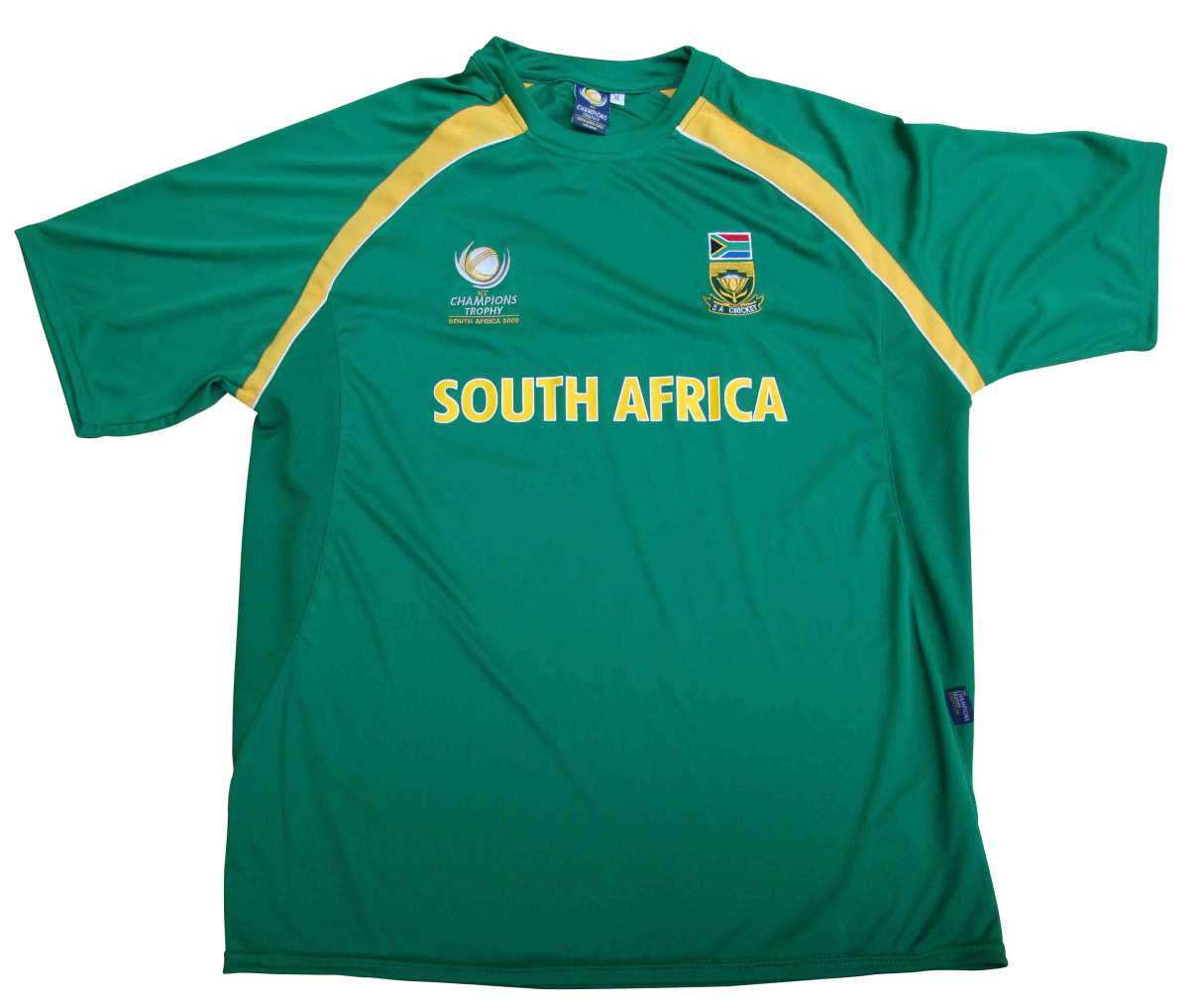 Cool Dry Cricket Supporters T-Shirt Polyester with...