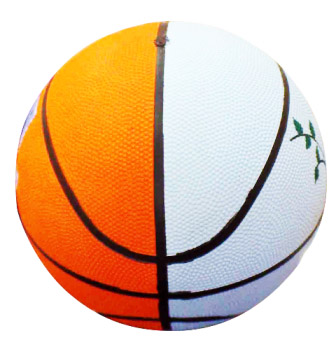 Basketball Champion (Rubber Moulded) Orange Color