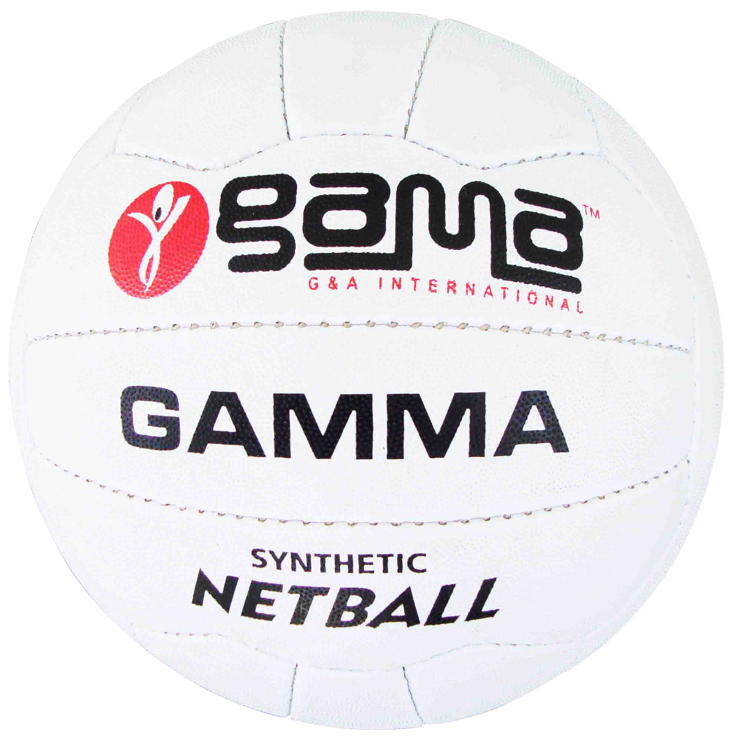 Netball Gamma, Synthetic pimpled rubber grade III,...