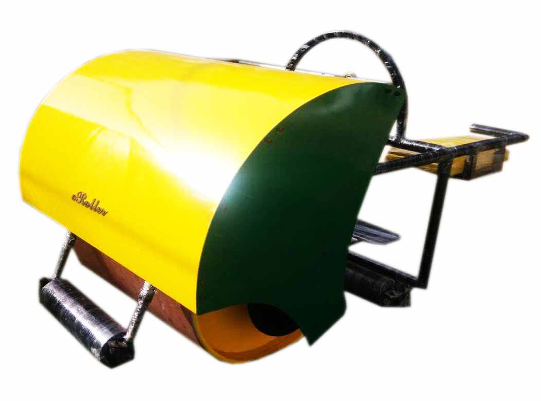 Cricket Pitch Petrol cum Electric Roller (1 Ton Ca...