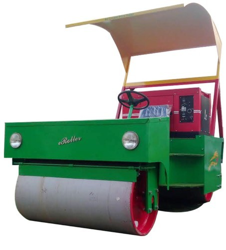 Cricket Pitch Diesel cum Electric Roller (1.5 Ton ...