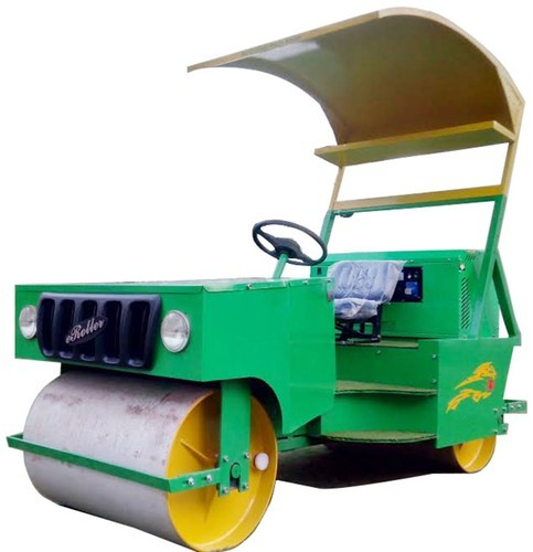 Cricket Pitch Petrol cum Electric Roller (1.5 Ton ...