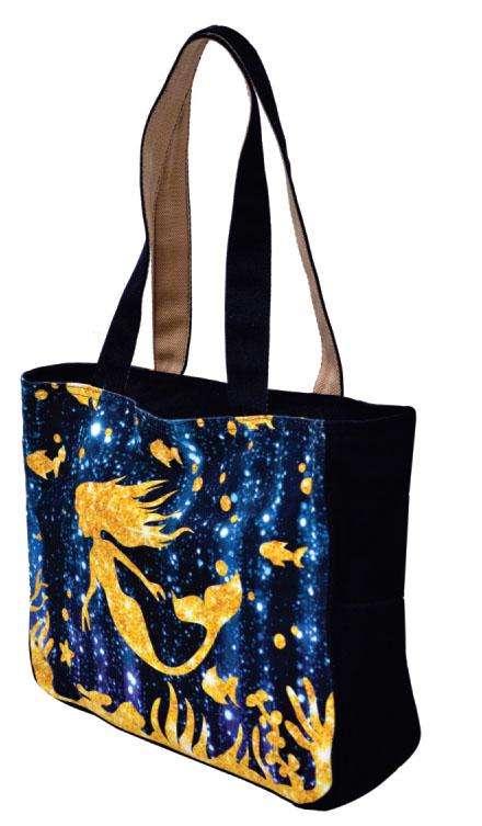 Fish Print Medium Sized Bag
