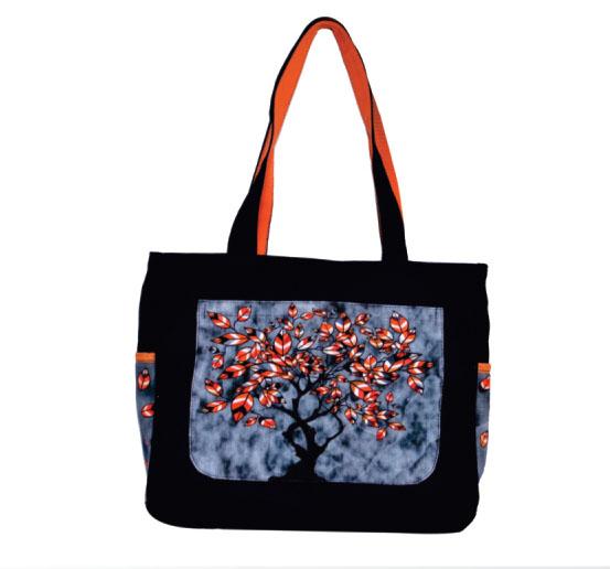 Tree Print Small Sized Bag
